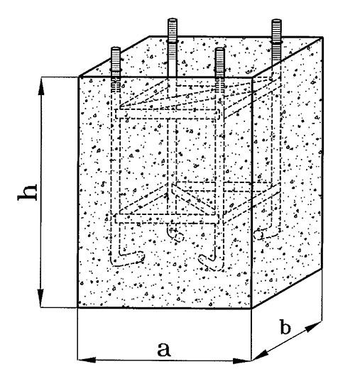 מידות ליציקת בטון
